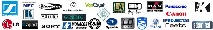 Alle logo's in een banner